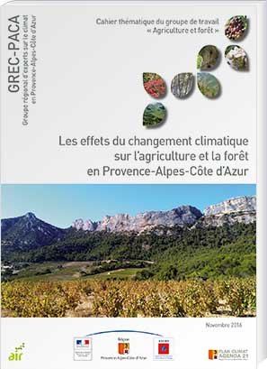 Impacts of Climate Change on Agriculture and Forestry in the PACA Region