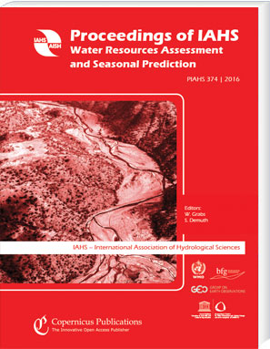 Proceedings of IAHS – Water Resources Assessment and Seasonal Prediction