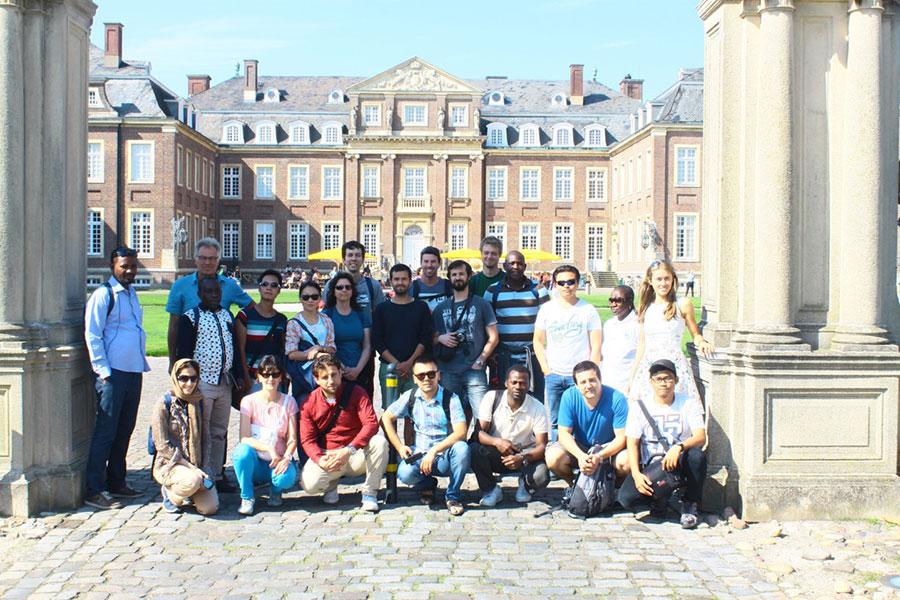 """Teilnehmer der """"International German Summer School on Hydrology: Grundwasser und Landwirtschaft"""""""