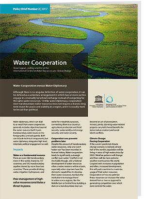 Titelseite Wasserkooperation