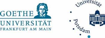 Logos Goethe Universitaet und Uni Potsdam