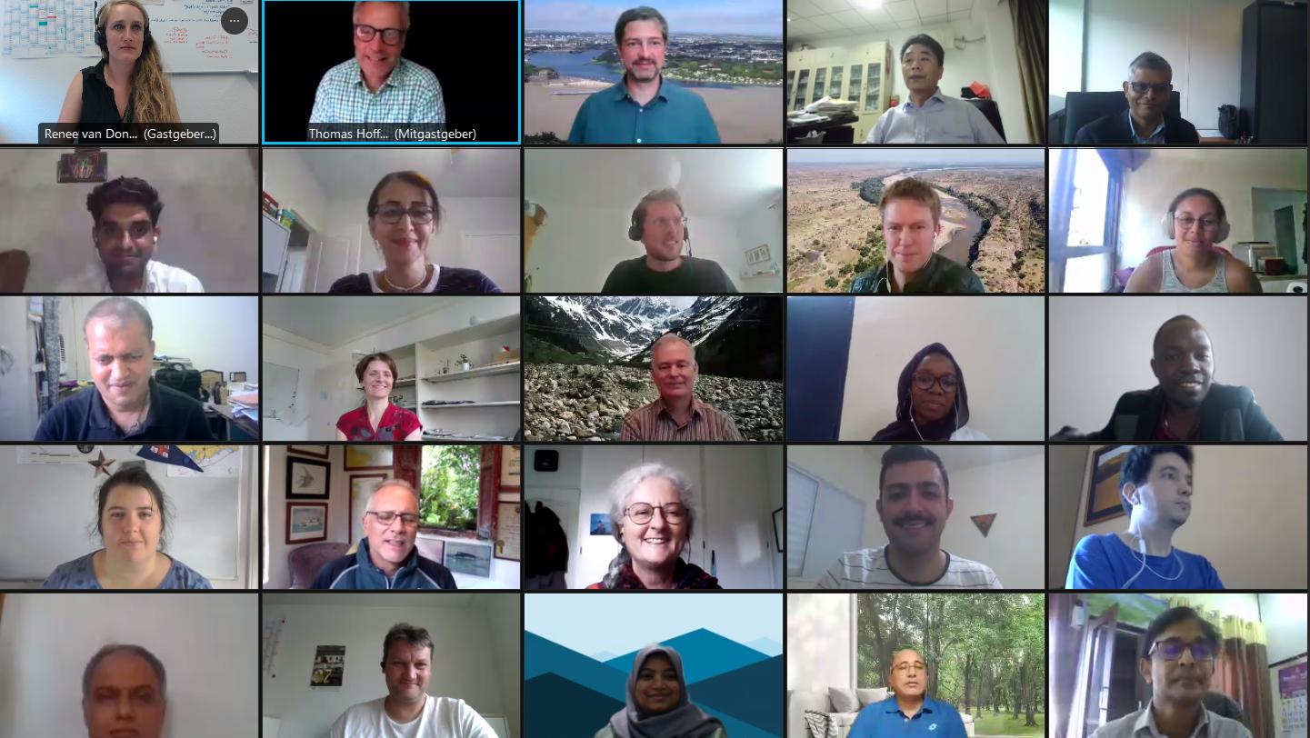 Teilnehmer/-innen des UNESCO Training-Workshops
